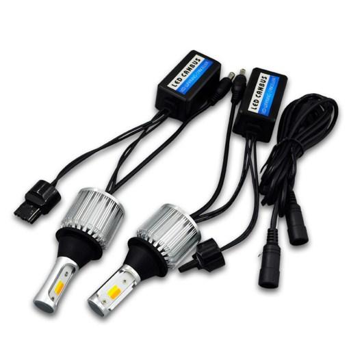 LED Switchback bulbs drl turn signal