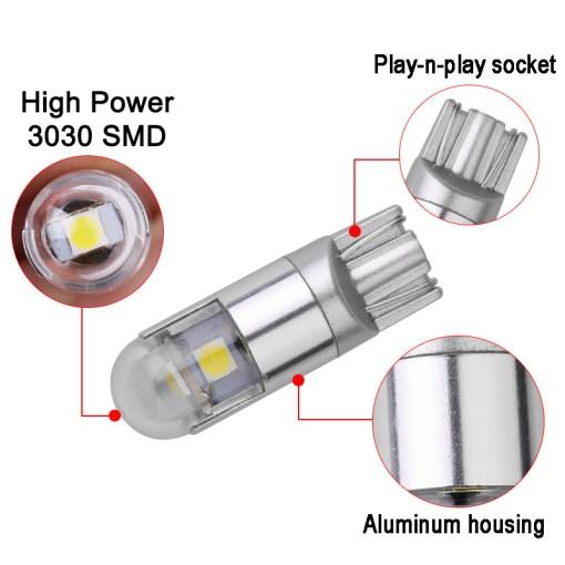 T10 LED Bulbs 3030 SMD