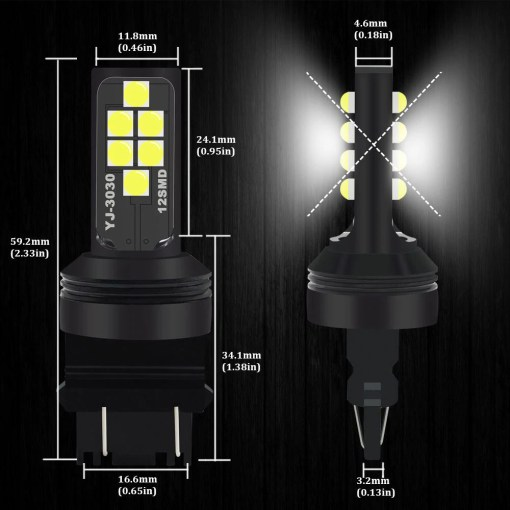 Bright Colorful LED Turn Signal Bulb