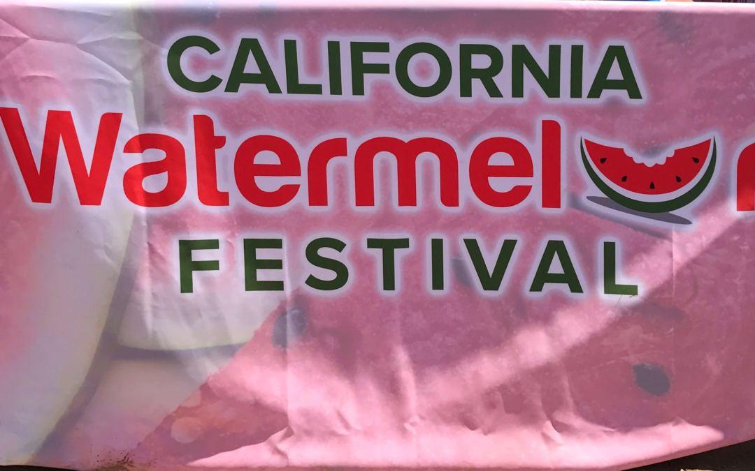 The California Watermelon Festival: Summer's Sweet & Nutritional Fun