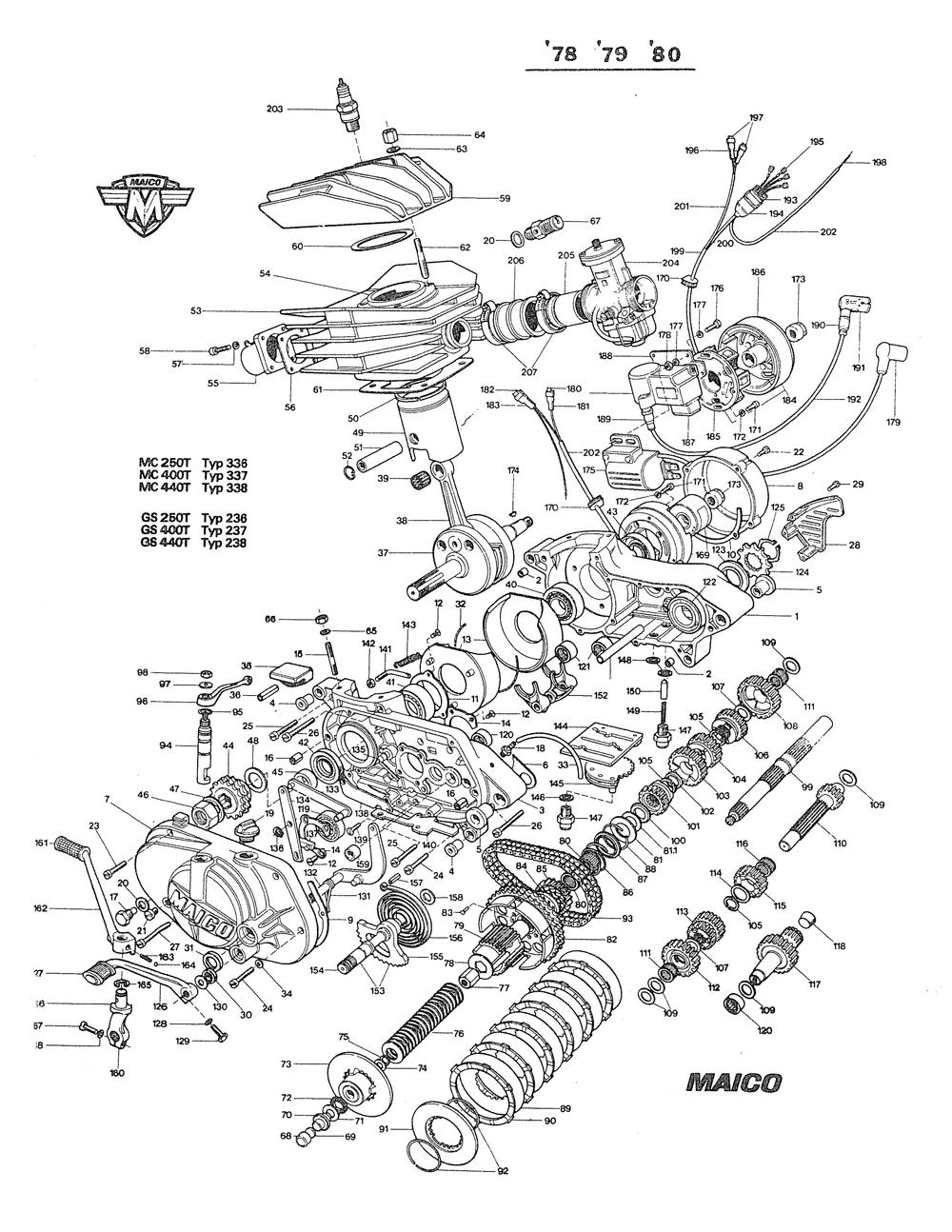 1980 Engine