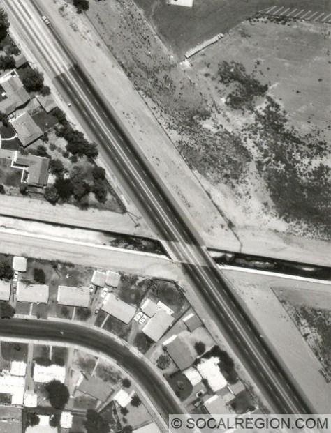 1932 San Jose Creek Bridge in 1965, then carrying only SR-71.
