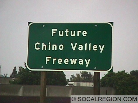 Sign at Valley Blvd, a rare sight in California.