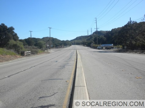 Original 1940 median approaching Remsen Street.