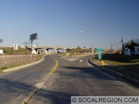 Original Pomona Blvd interchange.