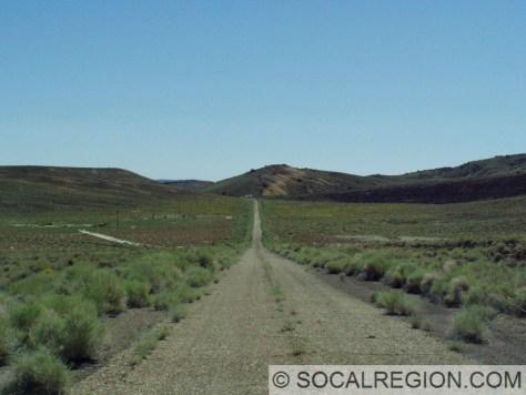 Heading east toward Basalt Junction on an old alignment.