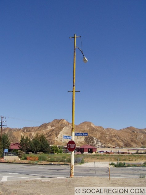 1948 signal post, with the signals removed.