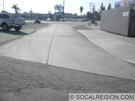 Pre-1950 alignment of Beach Blvd, just east of Beach Blvd at Garden Grove Blvd.