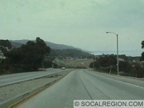 Pacific Coast Highway near Malibu.