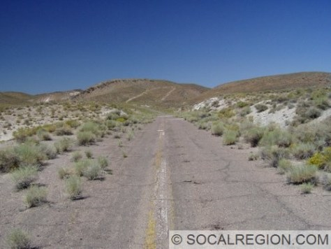 Old alignment east of Basalt near the Mineral / Esmeralda County line.