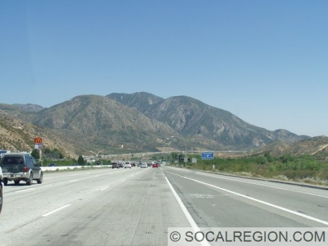 Just south of the 138 in Cajon Pass.
