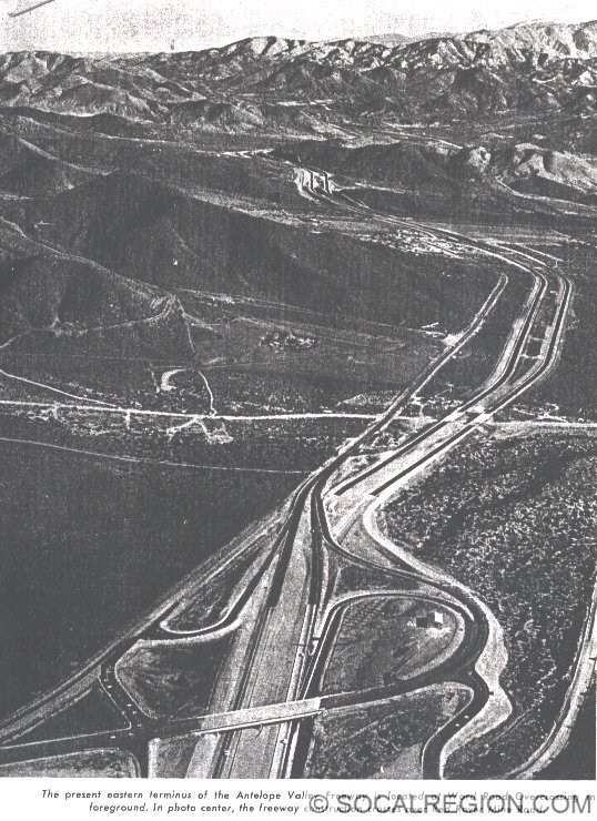 Ward Road terminus in 1963. View is easterly.