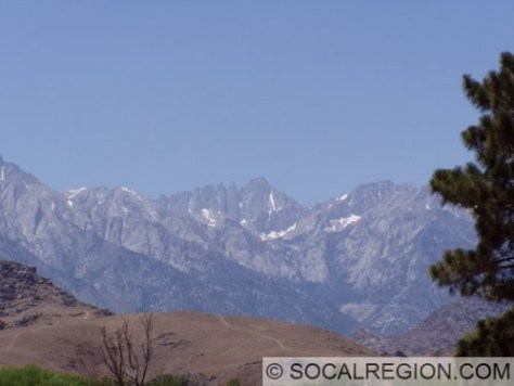 View of Mt. Whitney