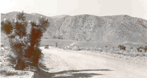 Near the summit of Walker Pass 1925