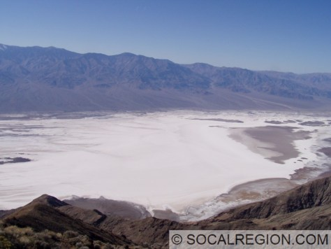 Badwater Basin, dry in 2006.
