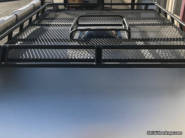 SoCal Teardrops  Options  Options  Roof Basket