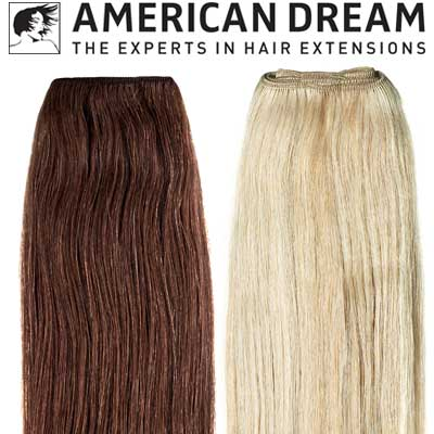 American Dream Extensions Weft Silky Straight extensions
