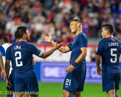 USA vs Panama: In Pictures