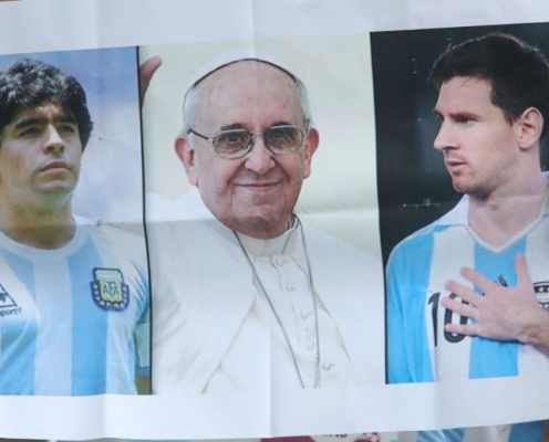 Pope Francis Comments on Lionel Messi God Comparisons