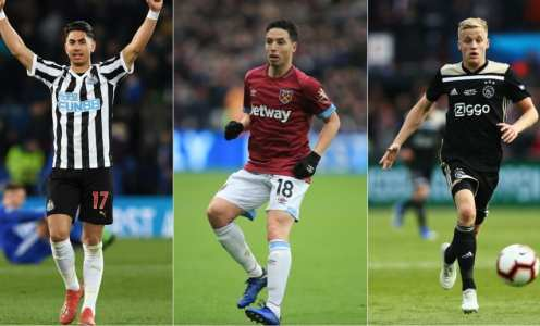 Transfer Rumours: Ayoze Perez to Arsenal, Van De Beek to Dortmund, Llorente Exit & More