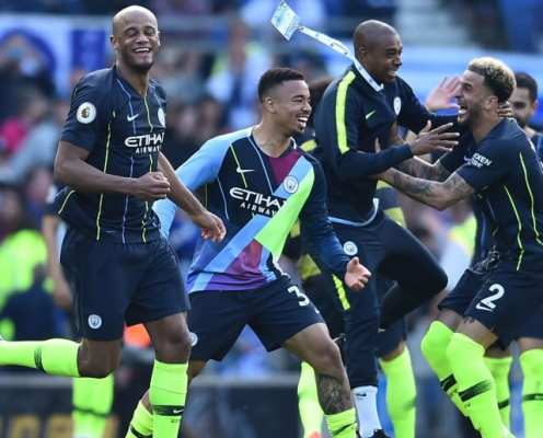 Manchester City Clinch 2018/19 Premier League Title After Beating Brighton on Final Day