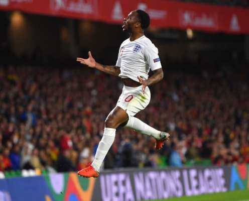 Raheem Sterling Set to Captain England Against the Netherlands in Nations League Semi-Final Clash