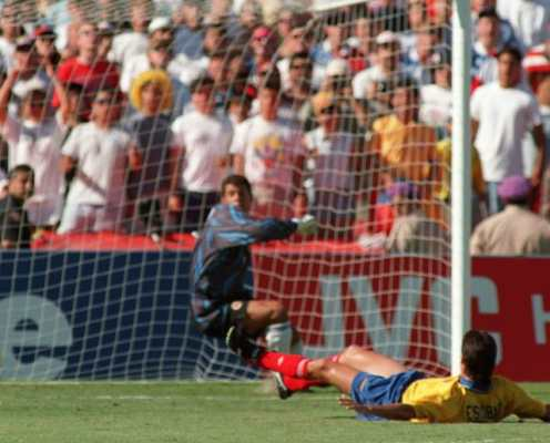 Andres Escobar: The World Cup Own Goal That Killed the Colombia Defender