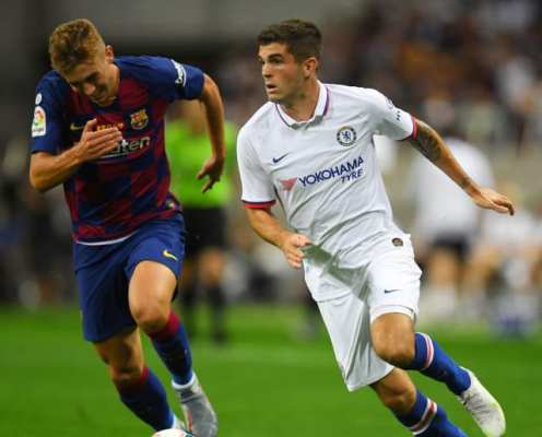Eden Hazard Claims New Chelsea Ace Christian Pulisic Can Become One of the Best Players in the World