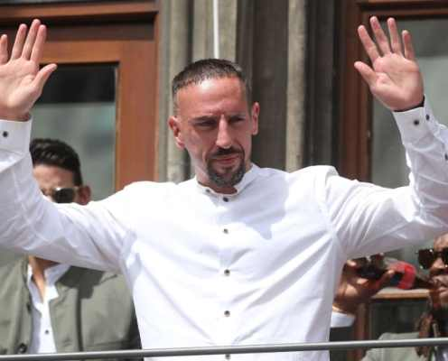 Fiorentina Confirm Franck Ribery's Arrival at the Club Ahead of Two-Year Deal