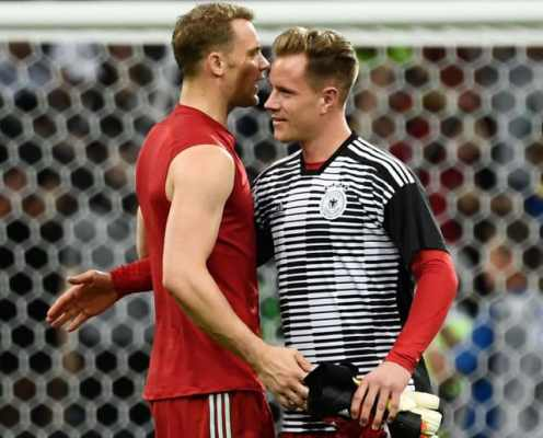 Manuel Neuer Responds to Marc-André ter Stegen Outburst Over Lack of Germany Playing Time