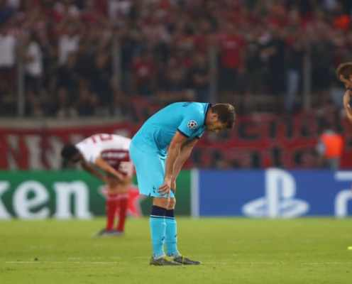 Olympiacos 2-2 Tottenham: Report, Ratings & Reaction as Spurs Throw Away Two-Goal Lead in Greece