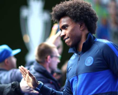 Barcelona Set to Renew Interest in Willian Yet Again as Contract Runs Down