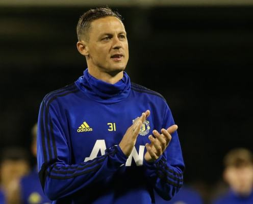Nemanja Matic Pictured Waiting Outside Portugal Dressing Room So Sons Can Meet Cristiano Ronaldo