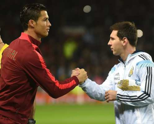 Lionel Messi Insists He'd Happily Have Dinner With Cristiano Ronaldo But Denies They Are Friends