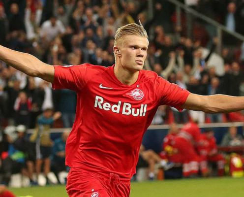 Barcelona Join Premier League Sides in Scouting Erling Braut Håland After Champions League Heroics
