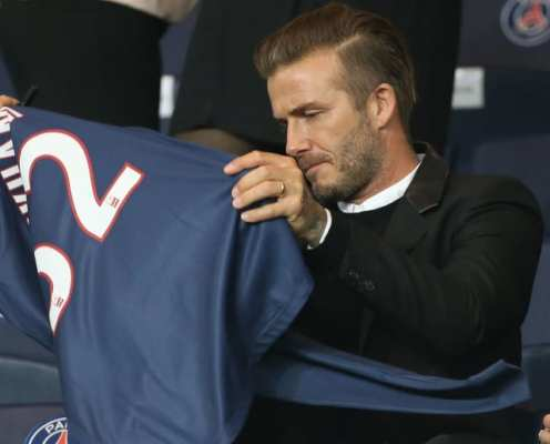 David Beckham Aiming to Sign Kylian Mbappe as a Client After Launching New Football Agency