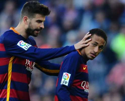 Gerard Pique Reveals Barça Players Were Willing to Take Pay Cut to Bring Neymar 'Home'