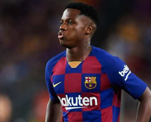 Ansu Fati Left Out of Spain Under-17 World Cup Squad