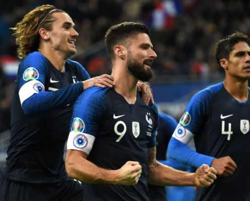 International Roundup: England & France  Qualify for Euro 2020 as Ronaldo Bags Portugal Hat-Trick