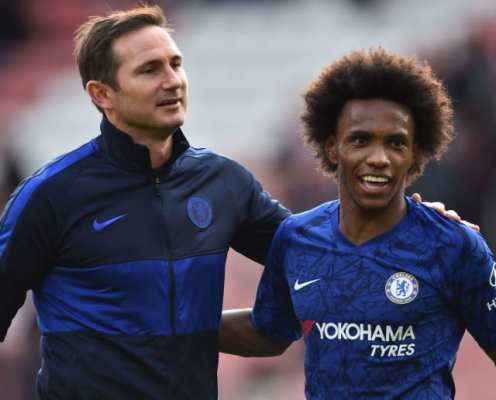 Frank Lampard Calls on Chelsea Board to Offer Willian New Contract