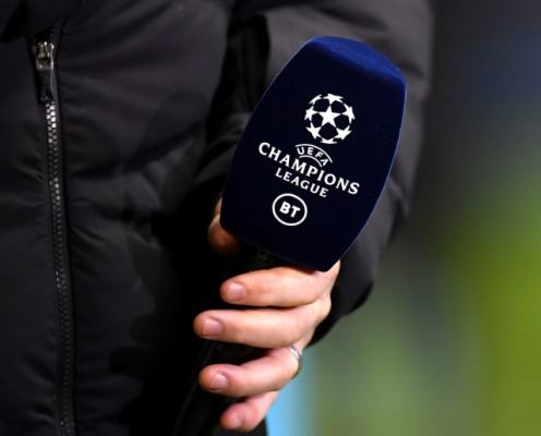 BT Sport Retains Exclusive Rights to All UEFA Competitions Until 2024