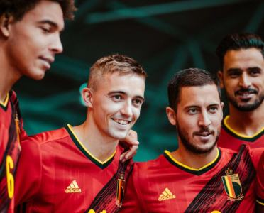 Belgium Launch New adidas Home Kit for Euro 2020