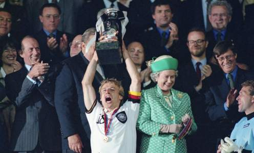 Classic Euro Game: Germany Win 1996 Final With Dramatic Golden Goal