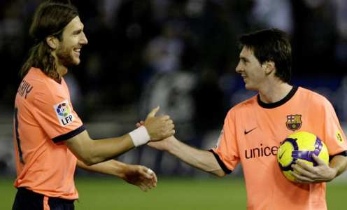 Making a Starting XI of Lionel Messi's Weirdest Teammates Throughout His Career