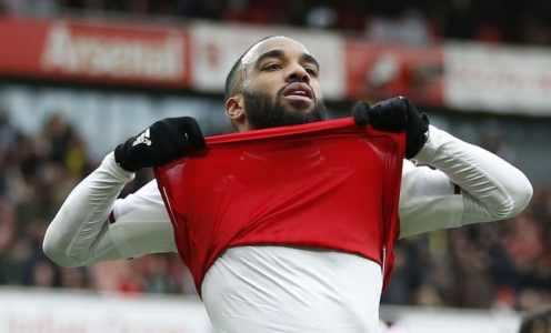 Atlético Madrid Continue to Monitor Arsenal Front Man Alexandre Lacazette