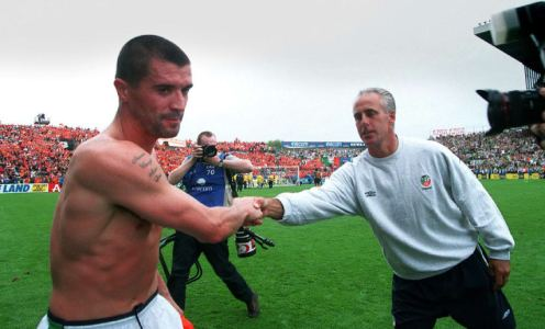 Remembering the Infamous Roy Keane vs Mick McCarthy 2002 Bust Up