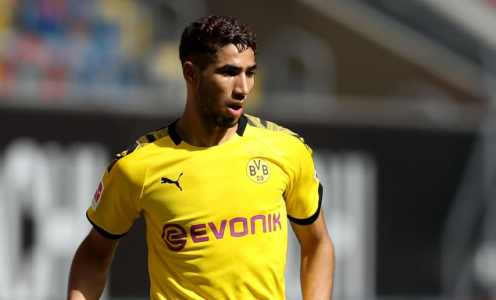 Achraf Hakimi Posts Farewell Message to Borussia Dortmund as He Prepares for Inter Medical