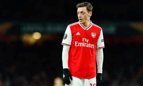 Mesut Özil Admits Frustration Over Lack of Opportunities Under Mikel Arteta