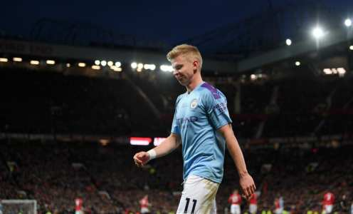 Manchester City Offer Oleksandr Zinchenko to Barcelona