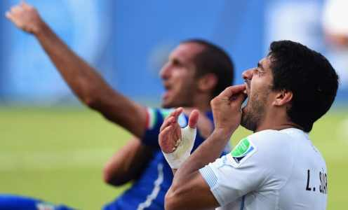Luis Suarez Holds Clear the Air Talks With Giorgio Chiellini Ahead of Juventus Move